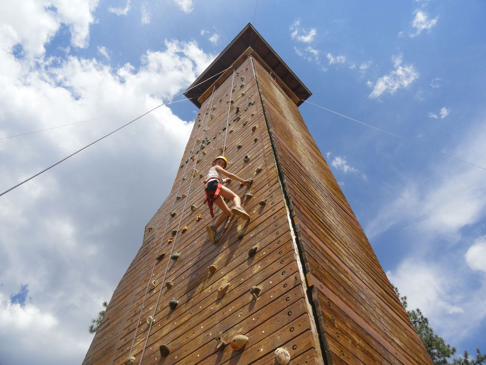 Adventure Awaits   Climbing Wall   Exceptional Outdoor Experiences That Last a Lifetime   Arizona Camp   Valley of the Sun YMCA Camp Sky-Y